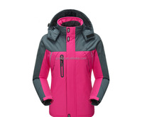women softshell jacket winter softshell coat waterproof jacket for women