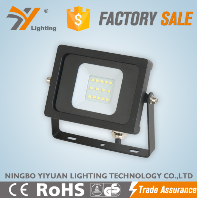 Reach CE ROHS Slim Led Flood Light independent drive Street Outdoor Lighting Lamp IP65 10W