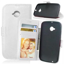 For Motorola Moto E2 E 2nd Gen Universal Leather Phone Case with Photo Frame Card Holder Stand fundas Mobile Phone Cover