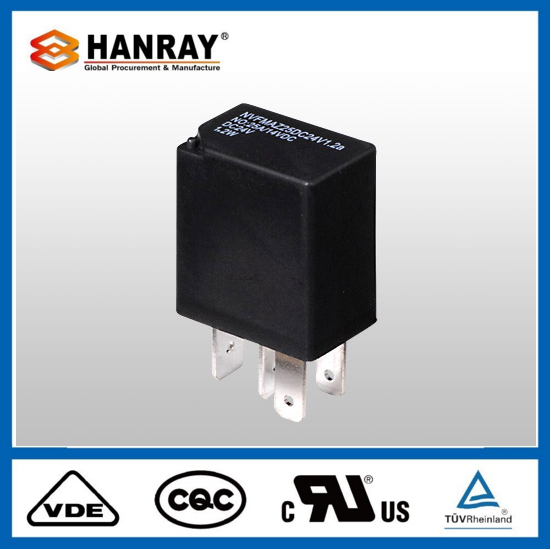 Good Price Car Howo Starter 12V 50A 4Pin Automible Relay 40A