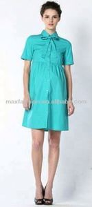 High quality short sleeve maternity dresses for office