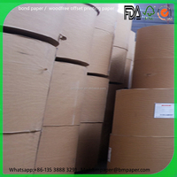 top quality woodfree offset paper / bond / cash register rolls