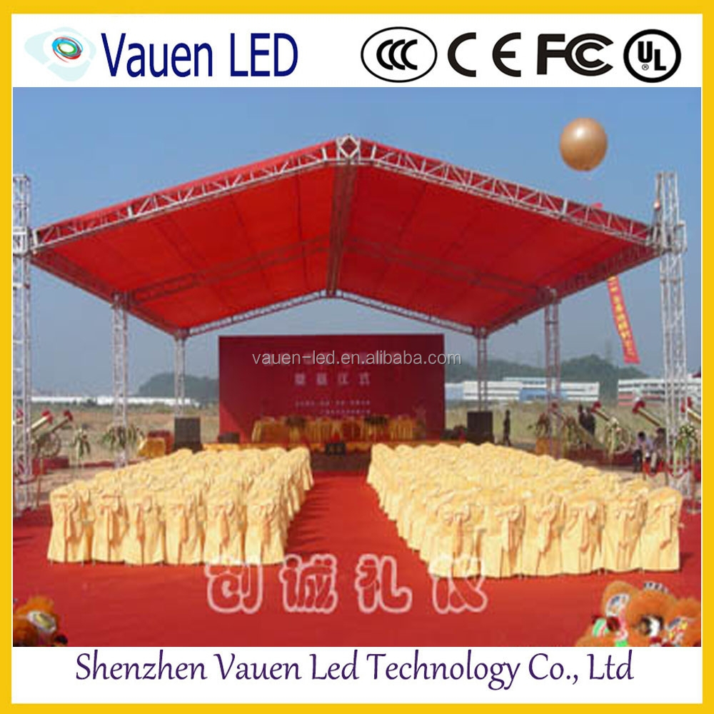 P10mm outdoor rental LED screen /led light display advertising board