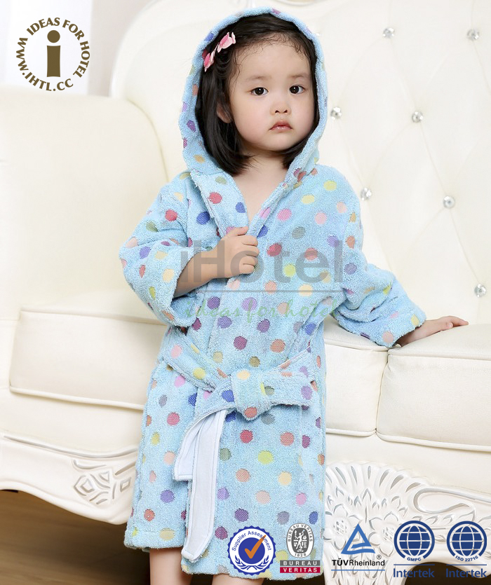 Supply Baby Child 100% Cotton Animal Bathrobe