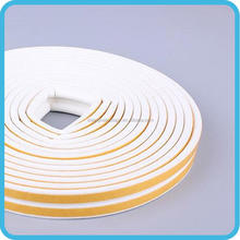 First grade promotional price flock lined window rubber seal strip