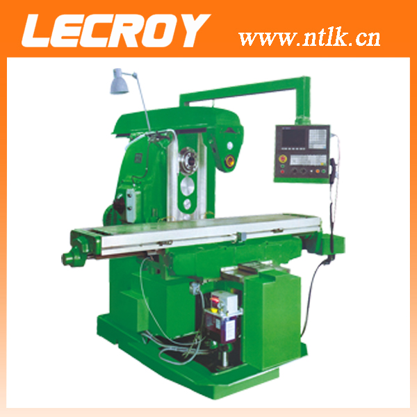 low cost CNC knee type horizontal milling machine