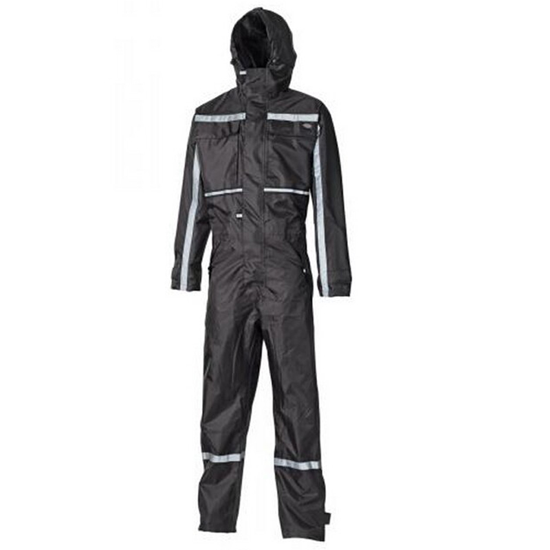 High visibility Waterproof 100% polyester oxford factory workwear uniform Dartmouth Coverall with reflective tape