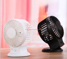 DC 5V Standing Angle Adjustable Desk Portable USB rechargeable Mini Battery Operated Fan