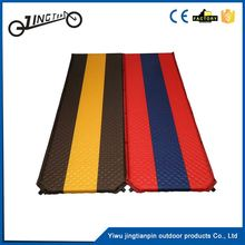 Comfortable dampproof self-inflating sleeping pad inflatable beach products mattress camping mat
