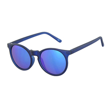 Guangzhou USOM newest full frame free sample sunglasses with blue mirror lens polarized