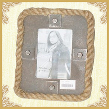 Big picture frame hemp rope picture frame home designs
