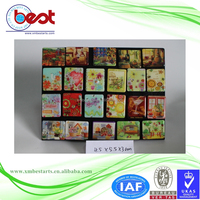 Refrigerator magnets flower style fridge magnet puzzle