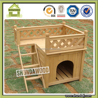 Cheap Wooden Cat cage with floor