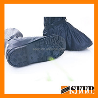 reusable waterproof motorcycle dedicated pvc shoe cover
