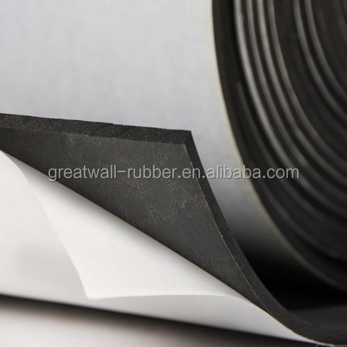 Sponge foam rubber sheet NBR SBR EPDM rubber sheet 0.7g/cm3 specific gravity 30+/-5shore A