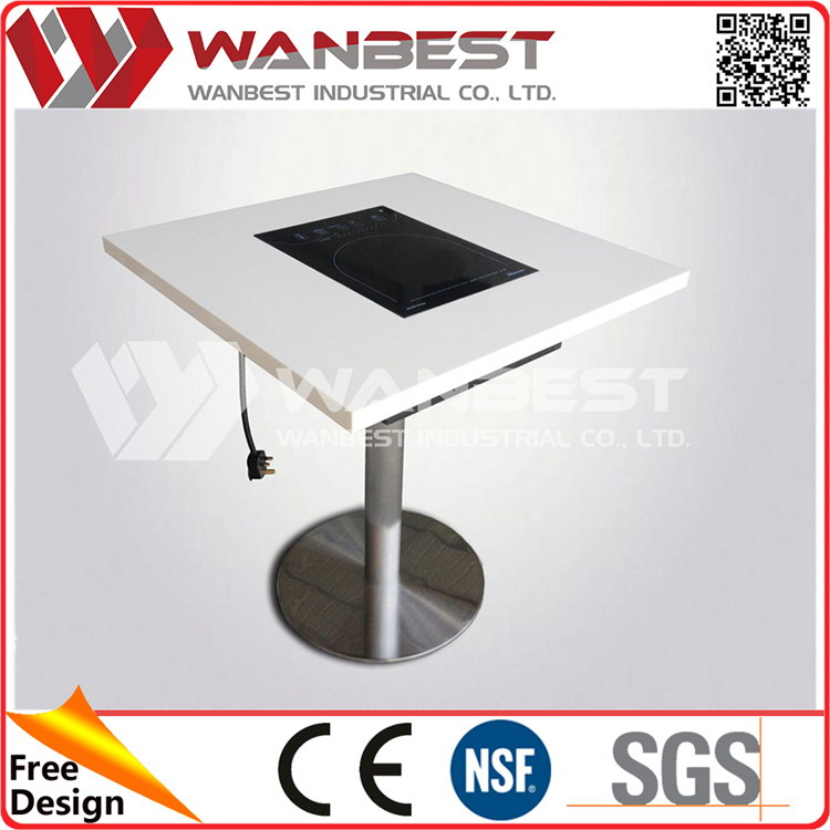 China factory price good quality updated outdoor stone top dining tables
