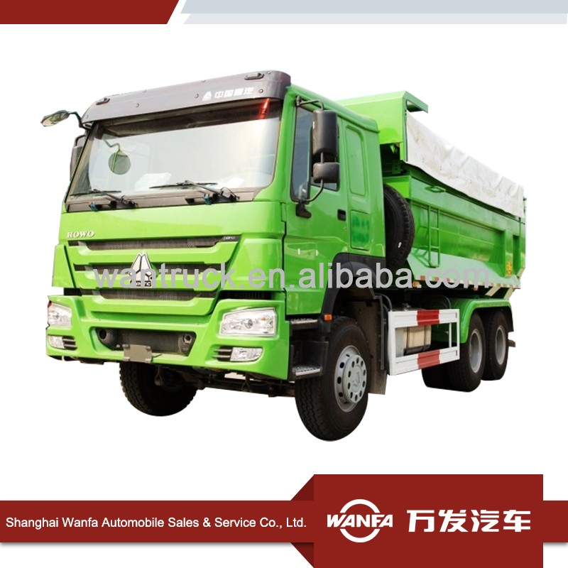 Top Sale Hot Sale SINOTRUK HOWO 6X4 371HP U Shape Heavy Truck