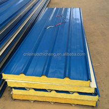 New Model Energy-Saving Insulated Fiber Glass Wool Sandwich Panel