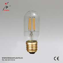 T45 E27 4W Warm White COB vintage LED Filament light bulb Retro Edison Bulbs 110-240V