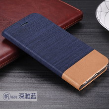 Denim Phone Canvas Book Folio Card Flip Leather Wallet Cover Case for apple iphone 6 6s 4.7inch