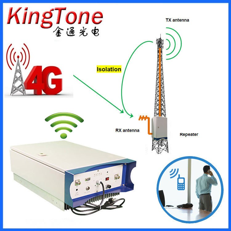 Band 5 lte800mhz 4g smart phone mobile signal booster 20 watt outdoor repeater