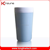 300ml plastic double wall coffee cup with lid (KL-5008)