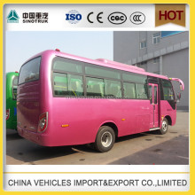China factory price 25 seater bus price