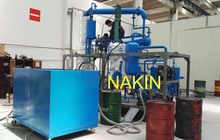 JZC used motor oil recycling machine/waste engine oil regeneration system