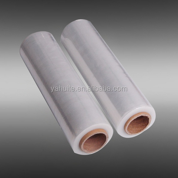 Power cast stretch plastic wrapping for pallet packaging film