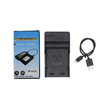 Outdoor battery camera charger with USB cable NP-W126 for Fuji X-A1 X-E2