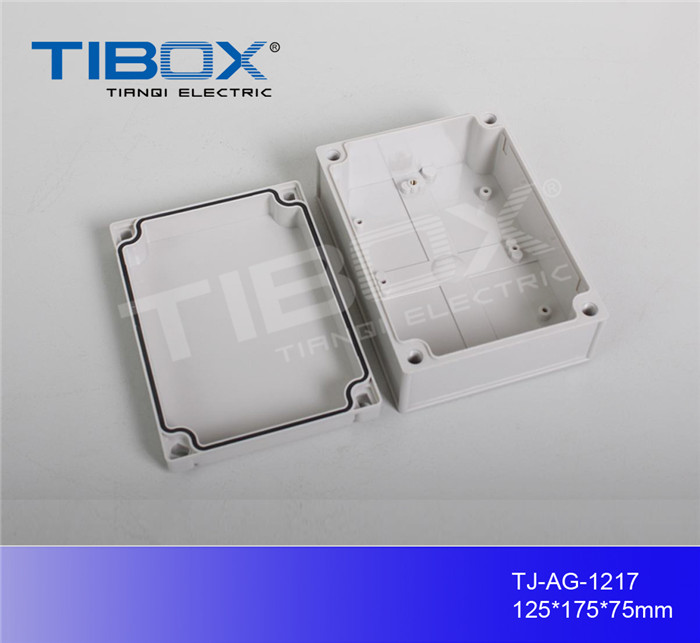 IP66 plastic connection enclosure plastic junction box din rail connection enclosure