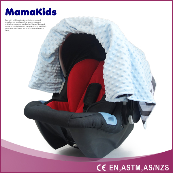 100% cotton bamboo muslin fabric canopy cover for baby car seat