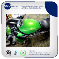 ral7035 epoxy custom motorcycle powder coating