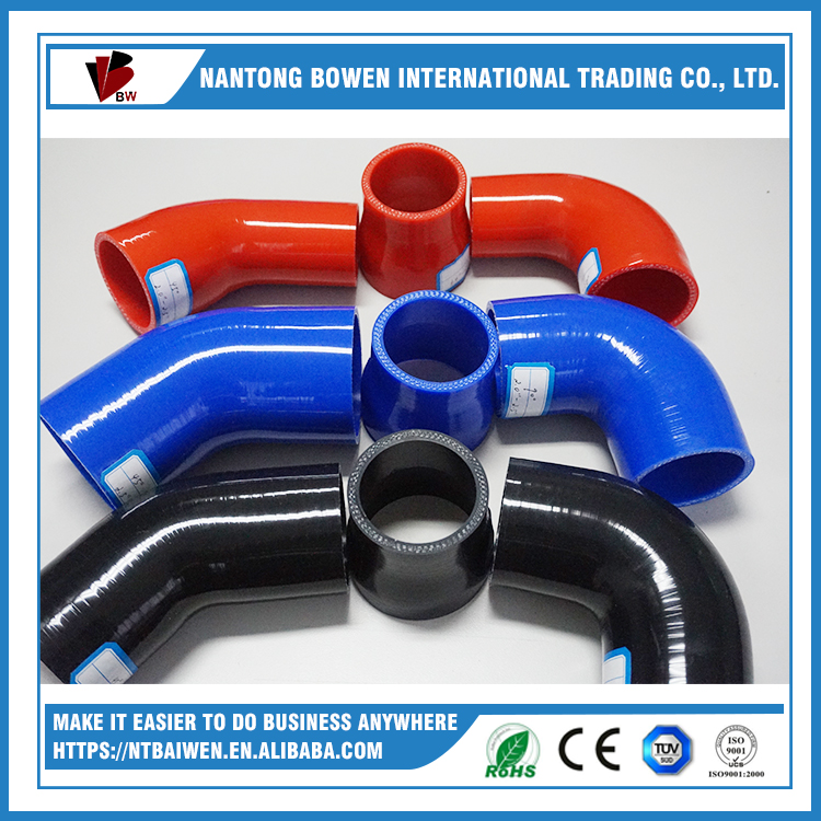 90 degree professional manufacturer radiator hose elbow silicone hose