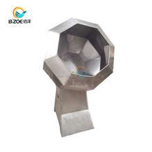 Factory Automatic Octagonal Shape Seasoning Mixer Machine For Snack Food Seasoning Flavoring