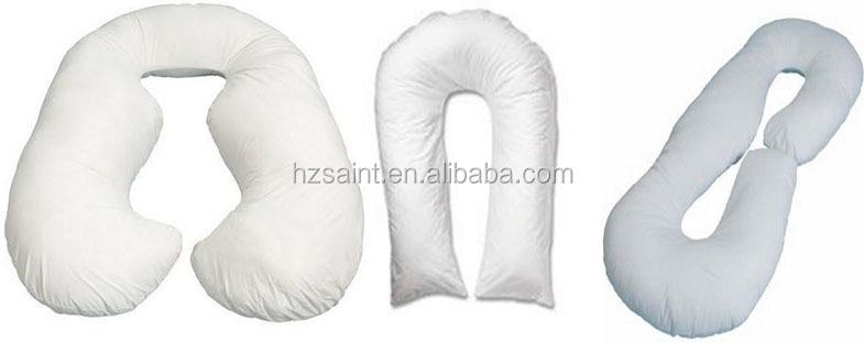 Cheap White U Shape Sleeping Maternity Pregnant Body Pillow for Pregnancy Women