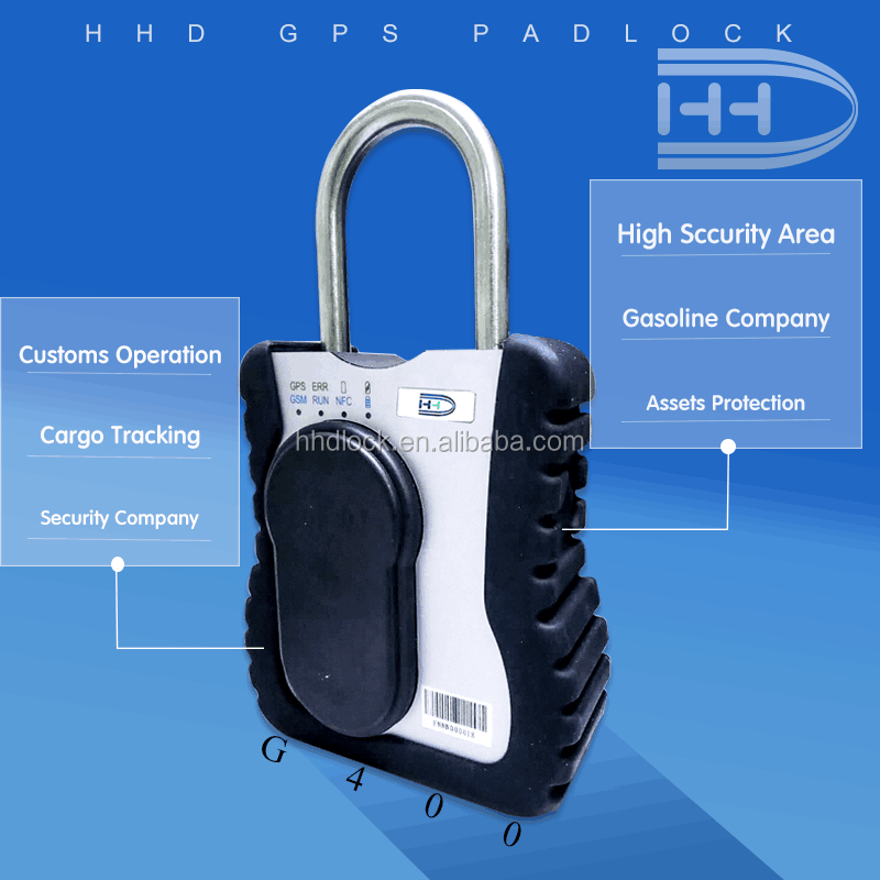 ISO and Android bluetooth padlocks GPS tracking lock