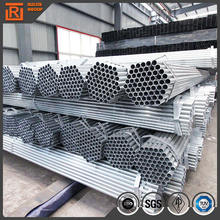 Leisure funiture DIN EN 10296-1-2004 Building Tubings/outer diameter 1 inch Pre galvanized hollow round Steel Pipe &tubes
