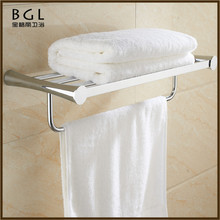 17120-CP best selling hot chinese products zinc alloy chrome bathroom accessory towel shelf