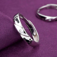 Best mens gold finger rings 925 Sterling Silver Ring
