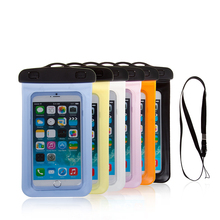 For iPhone 8/8plus Universal PVC Underwater pouch Diving case,waterproof bag for mobile phone