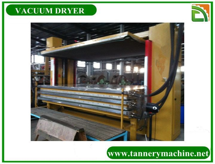 tannery machine cow belly leather for italy leather vacuum dryer