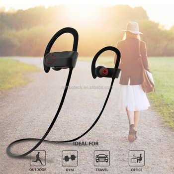 Fashion Headset RU9 Stereo Wireless Headphones With IPX7 For Sports-Sharon