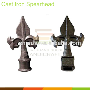 Cheap Customized Decorative Wrought Iron Fence Spear Tops