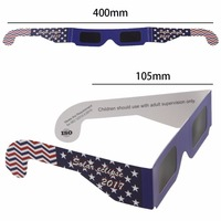 2017 wholesale custom logo PET protect Eye solar eclipse viewing goggles spectacles sunglasses glasses