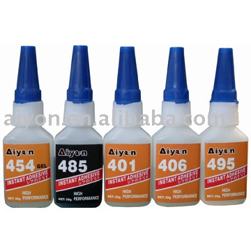 High performance cyanoacrylate different type of super glue