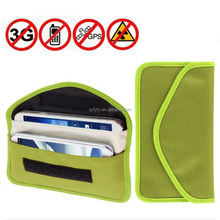 Imitation Leather Mobile Phone Signal Blocking Case