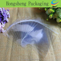 China wholesale adhesive biodegradable transparent plastic packaging bag for shoes/ garment/suits/underwear/granola bar