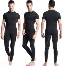 Wholesale fashion design mens seamless gym fitness sports wear t shirt