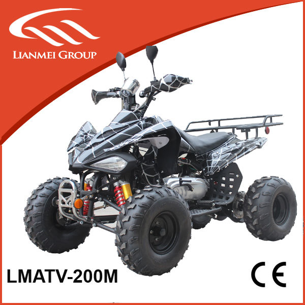 200cc cool sports atv with CE CTV gear electric starter cheap for sale